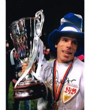 Gianfranco Zola Autograph Signed Photo - Chelsea
